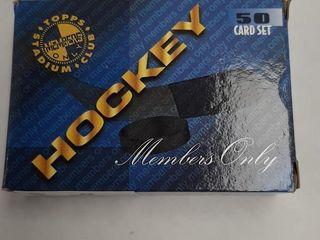 TOPPS HOCKEY CARD SET 50 PCS