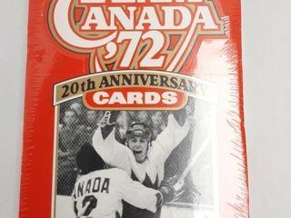 TEAM CANADA 1972 20TH ANNIVERSARY CARDS 24 PKGS