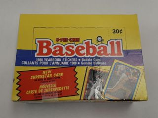 OPEE CHEE 1988 BASEBAll YEARBOOK STICKERS  CARD