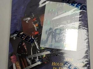 1995 FlEER BATMAN FOREVER CARDS BOX