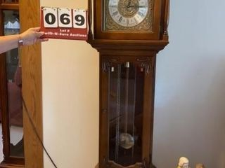 Western Germany grandfather clock