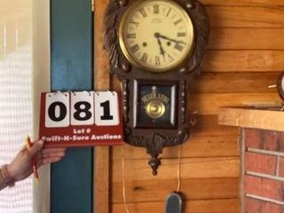 Southern Clock Co  Vintage Wall Clock