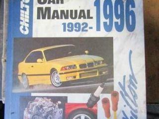 Import Car Repair Manual