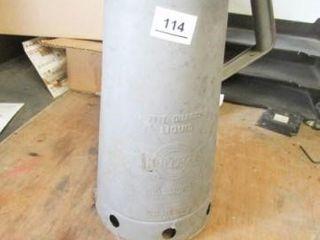 Huffman 5 Quart liquid Dispenser
