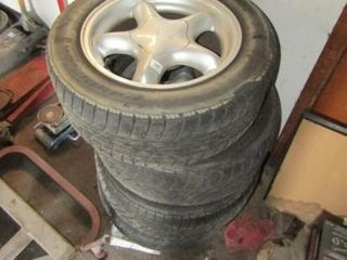 4 Ford Mustang Wheels   Tires