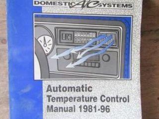 Automatic Temp Control Manual
