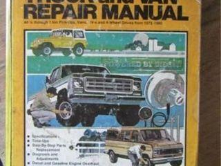 Chilton s Truck and Van Repair Manual