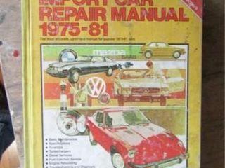 Chilton s Import Car Repair Manual