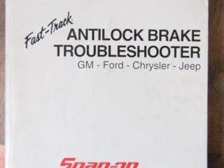 Snap On Antilock BrakeTroubleshooter Manual