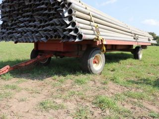 20  STEEl FlAT WITH HORST 205 DOUBlE REACH WAGON