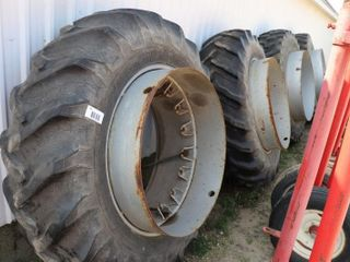 SET OF GOODYEAR 18 4 X 38 DUAlS