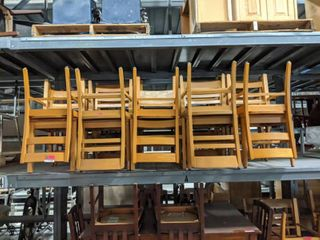 20  Assorted Wooden Chairs
