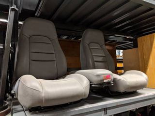 Set Of Bucket Seats From A Ford Van