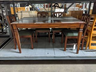 Thomasville Dining Room Table Set With Six Chairs