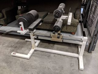 York Barbell Back And Ab Machine