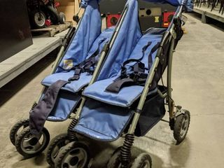2  Foundations Two Passenger Strollers