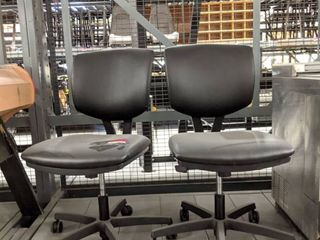 3  Rolling Computer Chairs