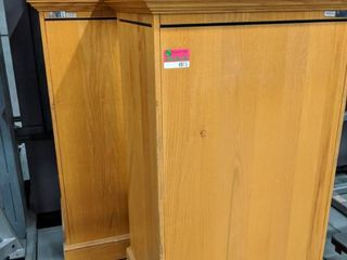 2  Wooden Displays Made Of Oak