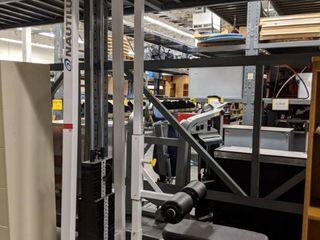 Nautilus lat Pull Machine