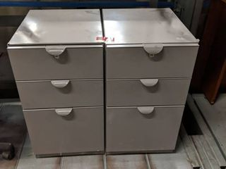 2  1 Drawer File Cabinets