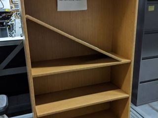 Wooden 4 Tier Bookshelf