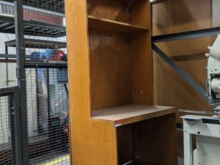 Desk With Built In Book Shelf