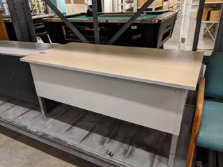 2  laminate Top Desks With Metal Frames