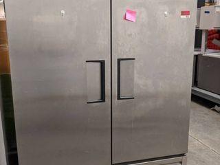 True 2 Door Freezer Model T 49F