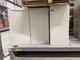 3  Metal Cabinets