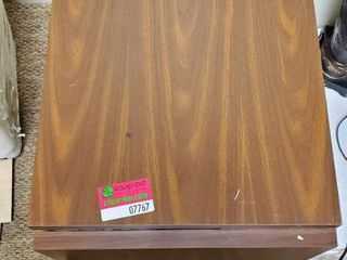 Wood Metal Table