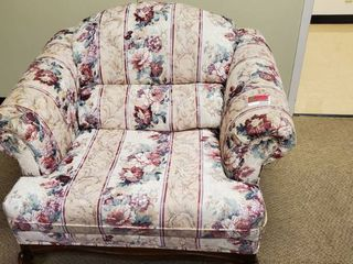 Pair Of Floral Chairs