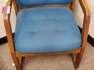 Green Waiting Room Chair