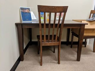 Table With Two Chairs  Contents Not Included