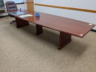 Conference Table With Two Chairs