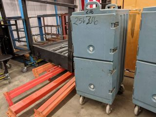 Rolling Cambro Food Storage
