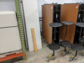 1  8 Seat Folding lunch Room Table