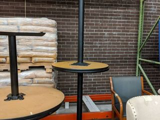 2  High Top Tables