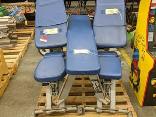 Pallet Of Hammer Strength Incline And Flat Benches