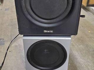 2  Stereo Speakers