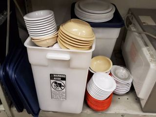 Dishware  Plastic Containers