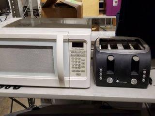 Hamilton Beach Microwave  Original Gourmet Toaster