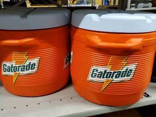 2  Gatorade Water Coolers