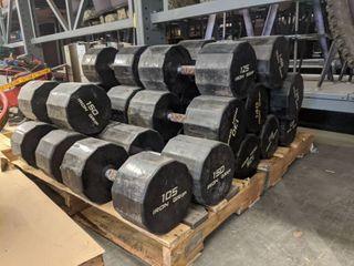 Assorted Iron Grip Dumbells