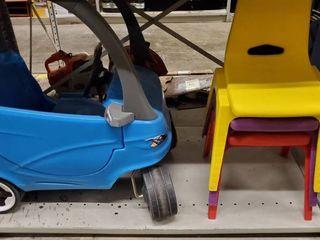 3  Kid Chairs  Kid Toy  Kid Buggie