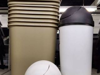 8  Trash Cans With lids
