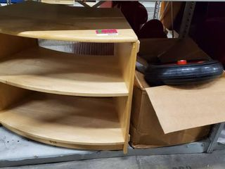 Kids Bookcase  Rolling Box  Tires