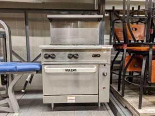 Vulcan 6 Range Natural Gas Stove 36S 6BN