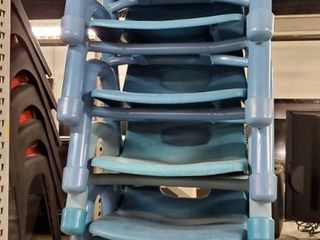 5  Blue Toddler Chairs