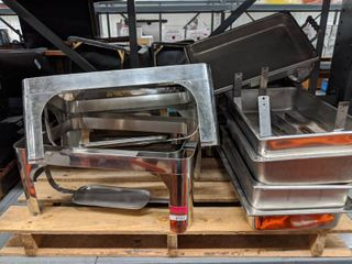 Pallet Of Stainless Steel Chafing Dish Sets