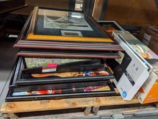 Pallet Of Framed Prints
